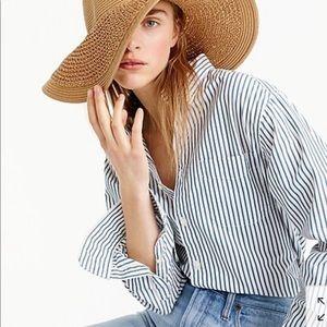 Jcrew summer straw hat